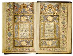 An Illuminated Qur'an, copied by Ali Ibn Khawaja Nour Ali Ibn Khawala Muhammad Muraqsani Alawi al-Harawi, Persia or India, Safavid or Mughal, dated 1138 AH/1725 AD | Lot | Sotheby's