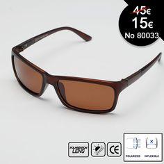 Εξαιρετικά μοντέρνα polarized γυαλιά ηλίου Αναφορά  80038 Κατάσταση:  Νέο προϊόν Το πλαίσιο είναι κατασκευασμένο από ελαφρύ και ισχυρό υλικό. Διαθέτει προστασία UV 400, η οποία προστατεύει το 99,9% από την επιβλαβή ακτινοβολία UVA και UVB , ξεκούραστη όραση υψηλής ευκρίνειας με polarized φακούς!
