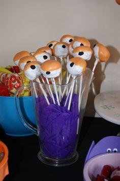 Monster cake 'eye' balls!