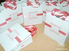 Custom Wedding Welcome Bag with satin ribbon and by WeddingUkraine