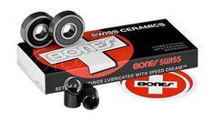 Bones Bearings - Swiss Ceramics Bearings ( 8 pack ) 608 8 mm