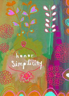 honor simplicity - alena hennessy