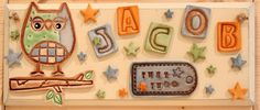 personalised bedroom plaques for boys so scrummy http://www.gemmajanedesigns.co.uk