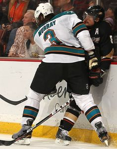 For Anne!  -DC   Douglas Murray  San Jose Sharks