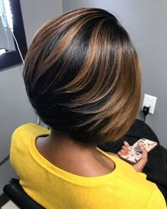 46 Best Natural Bob Hairstyles for Black Women - Hairstyles Black Girl Bob Hairstyles, Choppy Bob Hairstyles, Straight Hairstyles, Layered Bob Hairstyles For Black Women, Black Hairstyles Medium Length, Bob Haircuts, Braid Hairstyles, Medium Hair Styles, Natural Hair Styles