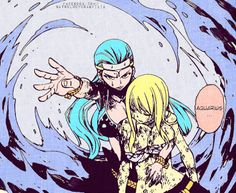 Lucy and Aquarius - Fairy Tail