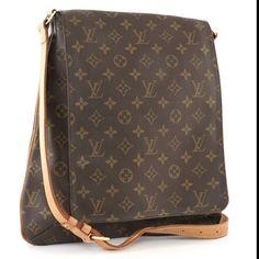 d4d9425b99d7 Louis Vuitton Musette Crossbody Messenger Bag GM My second.