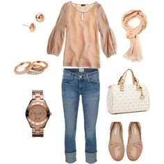 Rose Gold Makes Me Blush, created by cammiecole.polyvore.com