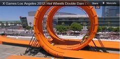 X-Games Real Life Hotwheels... #cool #video