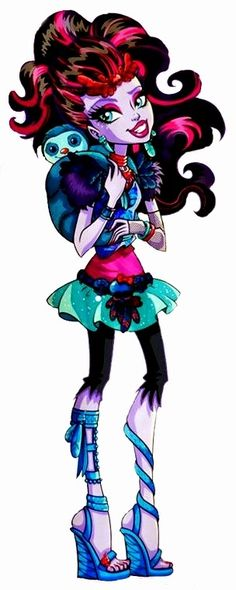 All about Monster High: Jane Boolittle & Lorna McNessie artwork