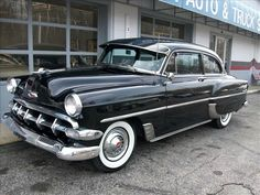 1954 Chevrolet 210 Two-Door Sedan Retro Cars, Vintage Cars, Asphalt Driveway Repair, Detroit Steel, Chevrolet Bel Air, Hot Rods, Dream Cars, Chevy, Classic Cars