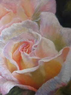 """Rose""  Pastel Painting by  kathdunneartworks.com"
