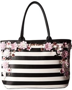 Betsey Johnson Large In Bloom tote