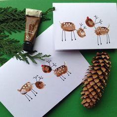 Die letzten Weihnachtskarten, die Fingerabdruck-Rotkehlchen, brachten mich zum Nachdenken über ... - Creative Verpackung - #brachten #Creative #die #FingerabdruckRotkehlchen #letzten #mich #Nachdenken #Über #Verpackung #Weihnachtskarten #zum