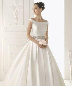 Off the Shoulder Satin Wedding Dress . 30 Off the Shoulder Satin Wedding Dress . Wedding Dress Sash, Wedding Dresses 2014, Perfect Wedding Dress, Bridal Dresses, Wedding Gowns, 1920s Wedding, Dresses 2016, Gothic Wedding, Prom Dress