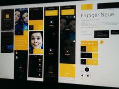 Hello - UI Board by & BigPitcher & (Utrecht, The Netherlands) Big Pitcher, Heroes For Hire, Fluid Design, User Interface Design, Lose 20 Pounds, Mobile Ui, Utrecht, Interactive Design, Hampshire