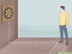 How to Throw Darts (with Pictures) - wikiHow Play Darts, Darts Game, Fingers Turn White, Local Pubs, Code Black, Corset Pattern, Pattern Sewing, Steampunk Corset, Steampunk Necklace