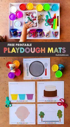 Preschool At Home, Preschool Lessons, Preschool Classroom, Preschool Learning, Toddler Preschool, Toddler Crafts, Preschool Crafts, Toddler Food, Playdough Activities
