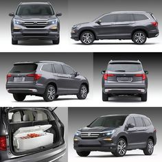 2016 honda pilot at dealership