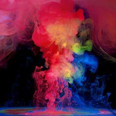 Colour explosion Aqueous Electreau by mark mawson photography