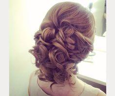 Drop Dead Gorgeous Curly Wedding Updos ~ we ♥ this! moncheribridals.com