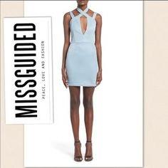 : Sexy FlirtyFun Blue Strappy BodyCon Blue Dress $78. Check it out! Price: $25 Size: 6