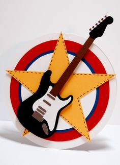 cards with guitars - Google Search
