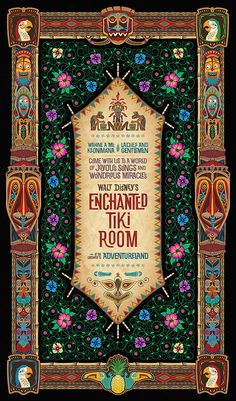 Walt Disney's Enchanted Tiki Room 50th Anniversary Merchandise Event at the…