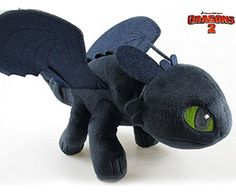 "OK-STORE Dreamworks Dragons: How to Train Your Dragon 22"" Plush Toothless ** Check out this great product."