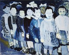 1987 Marlene Dumas (b1953 Cape Town, South Africa; in 1976 relocated in Amsterdam)