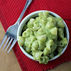 Avocado Mac & Cheese - Very easy and pretty good variation of an always favorite. 06/10/14