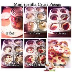 mini-tortilla-crust-pizzas by rosario