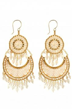 precious gold filled #chandelier #earrings I NEWONE-SHOP.COM