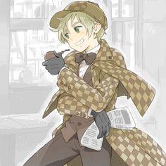 Sherlock Holmes England.
