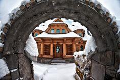 domy goralskie
