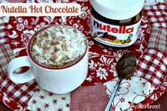 Mommy's Kitchen - Home Cooking & Family Friendly Recipes: Nutella Hot Chocolate {Warm Up your Winter Cookbook Giveaway} {Closed}