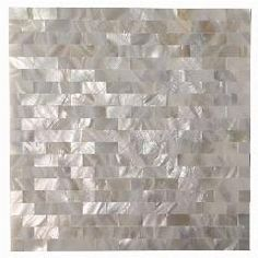 Ivy Hill Tile Mother Of Pearl Serene White Squares 12 in. x 12 in. x 2 mm Seamless Pearl Shell Glass Wall Mosaic Tile Splashback Tiles, Mosaic Wall Tiles, Mosaic Glass, Backsplash Tile, Tiling, Glass Tiles, Tile Art, Stick On Tiles Bathroom, Self Adhesive Backsplash