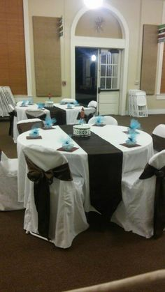 Baby Shower i did Breakfast At Tiffanys, Baby Shower, Table Decorations, Furniture, Home Decor, Babyshower, Decoration Home, Room Decor, Breakfast At Tiffany's