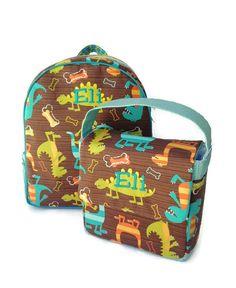 Preschool Lunch Bag, Toddler Lunch Bag, School Lunch Bag, Eco Friendly, Boys Lunch Bag, Dinosaur Lunch Bag, Lunch Tote, Snack Bag, Lunchbox for boy