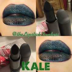 Bite Beauty Kale Lippie Bite Beauty Lipstick, Green Lipstick, Beauty Tips, Beauty Hacks, Hair Beauty, Face Forward, Lip Colors, How To Look Pretty, Kale