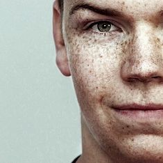 Will Poulter, i love his eyebrows, he has such a unique face, so handsome