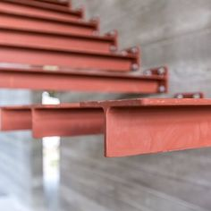 Cantilever stairs just put in on our Lake Knowles project. Cantilever Stairs, Stair Handrail, Staircase Railings, Staircase Design, Stairways, Escalier Design, Glass Stairs, Steel Stairs, Stair Detail