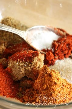 StoneGable: MAGIC BBQ RUB recipe