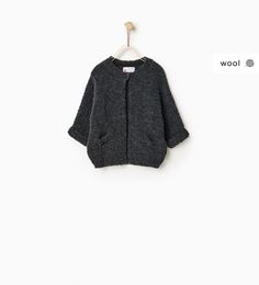Raglan sleeve jacket-SWEATERS AND CARDIGANS-Baby girl-Baby   3 months - 3 years-KIDS   ZARA United States
