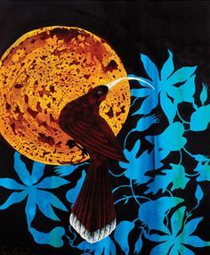 Rae West With a focus on New Zealand's botanical and bird imagery Rae reflects a personal appreciation and ongoing concern for her surrounding environment. Linocut Prints, Art Prints, New Zealand Art, First Art, Negative Space, Pet Birds, New Art, Eye Candy, Disney Characters