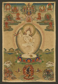 Machig Labdrön (Tibetan: མ་གཅིག་ལབ་སྒྲོན་, Wylie: Ma-gcig Lab-sgron, English translation: Unique Mother Torch of Lab) (1055 - 1149) was a renowned 11th-century Tibetan Tantric Buddhist practitioner and teacher.