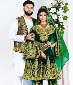 Afghani Clothes, Afghan Wedding, Afghan Dresses, Pakistani Dresses Casual, Hijab Outfit, Muslim Fashion, Traditional Dresses, Kimono Top, Bell Sleeve Top