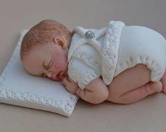 Essbare Baby jungen Taufe Taufe Kuchen Dekoration. Essbare Baby Cake Topper. Baby junge Kuchen Topper. Taufe-Kuchen-Topper.