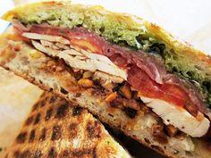Mendocino Farms - Prosciutto & Roasted Chicken Sandwich