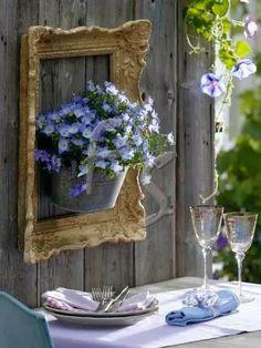 Jardim de Stefania: * Boas Ideias - Reaproveitando no jardim